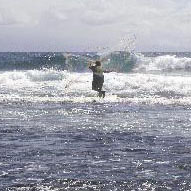 Picture of Fishing with a Throw Net